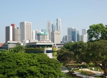 Cingapura é a metrópole mais verde da Ásia