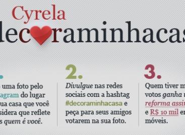 Concurso Cyrela #DecoraMinhaCasa
