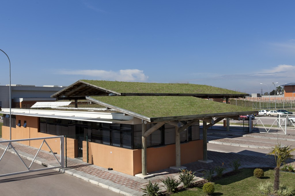 Fábrica SABB Coca-Cola - Telhado Verde (Foto. Divulgação)