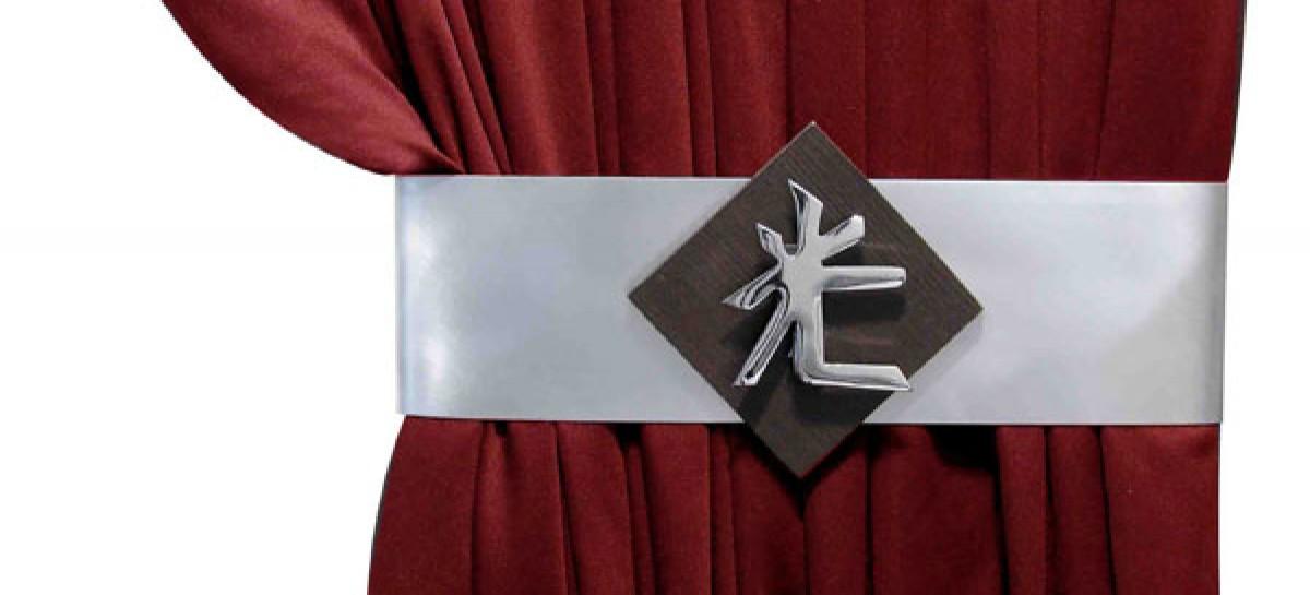 Fivela de cinta para cortina pode dar um toque especial ao ambiente. Confira!