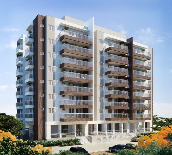 Localizado no Alphaville Barra da Tijuca, moradores encontrarão no local tranquilidade, comodidade e qualidade de vida