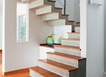 Escada de alvenaria